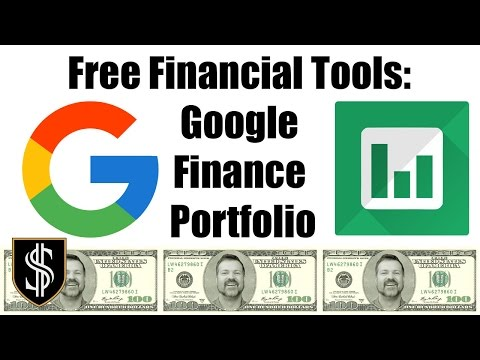 Free Investment Tools: Setup a portfolio in Google Finance