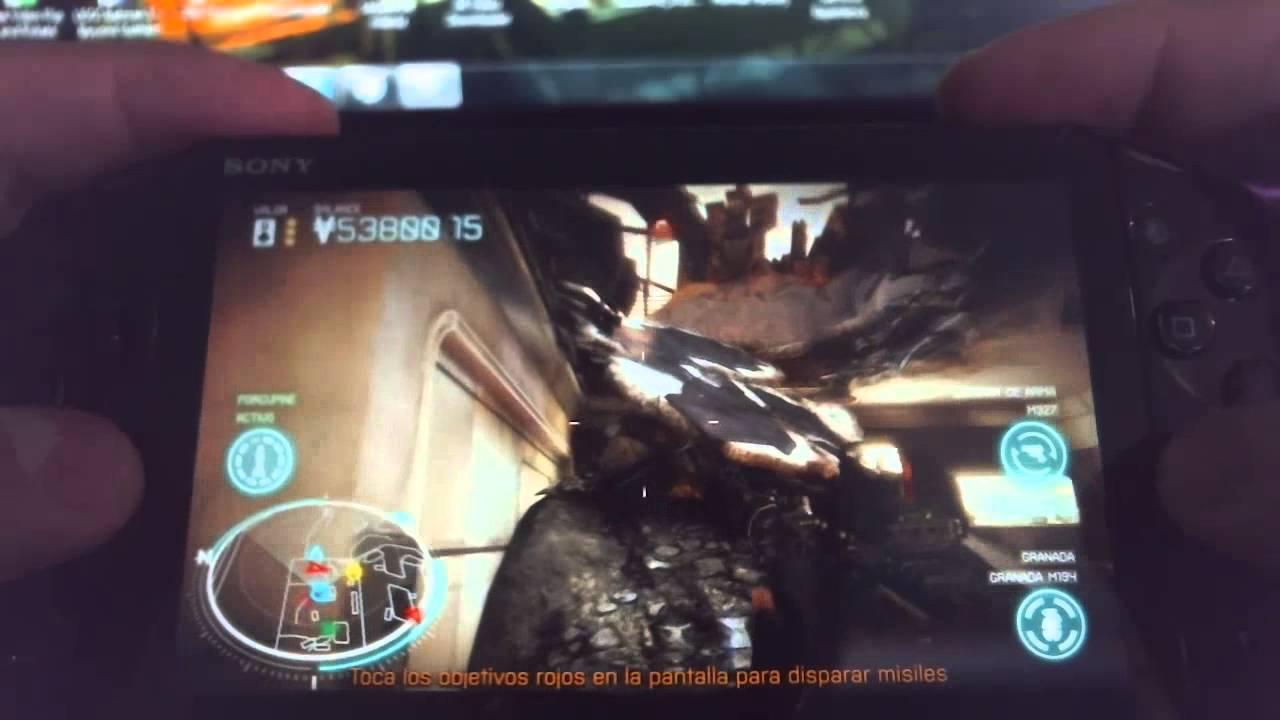 Killzone Mercenary Gameplay Test - PlayStation Vita