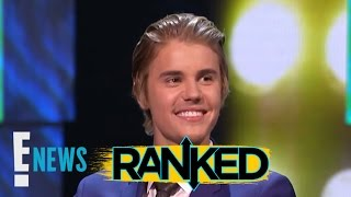 Justin Bieber's Best Haircuts RANKED | Ranked | E! News