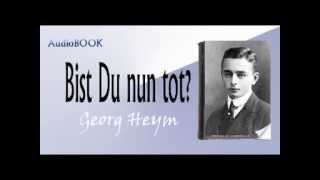 Bist Du nun tot ?  Audiobook Georg Heym