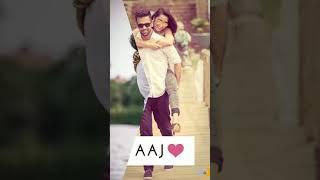 Dil Aaj Kal Meri Sunta nahi_with lyrics - new romantic full screen whataap status vivek created