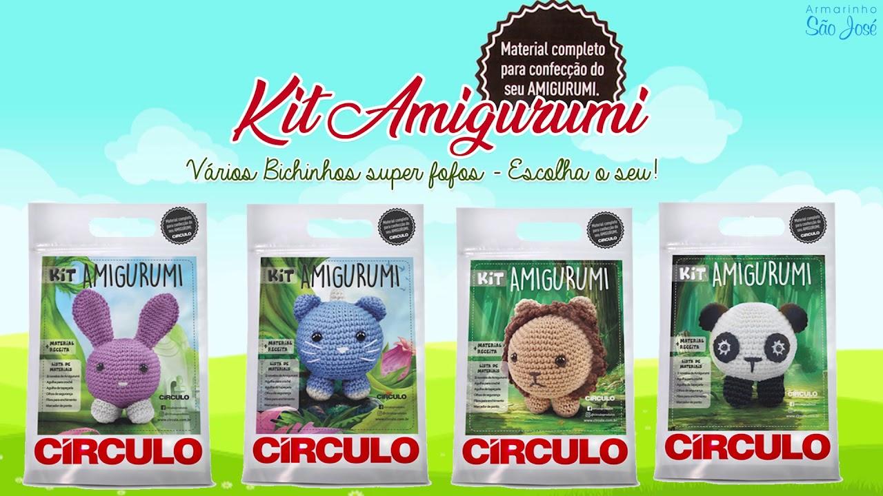 Kit Amigurumi Bichinho 3 Panda Vitrine do Artesanato - Mobile   720x1280