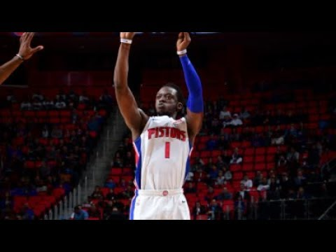 The Detroit Pistons Tie A Franchise Record 17 Three Pointers