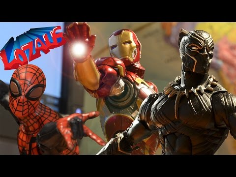 IRONMAN STOP MOTION Part 5 Trailer with Superior Spiderman & Black Panther