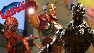 IRONMAN STOP MOTION Part 5 Trailer with Superior Spiderman & Black ...