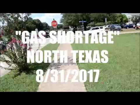 Gas Lines in North Texas (DALLAS) 8\31\17