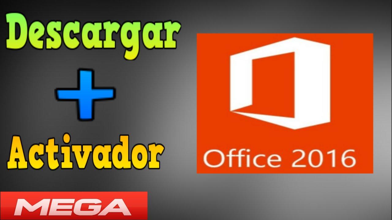 descargar activador de office 2016 gratis por mega