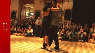 Tango: María Inés Bogado y Jorge López, 29/9/2016, Patio de Tango 3/4
