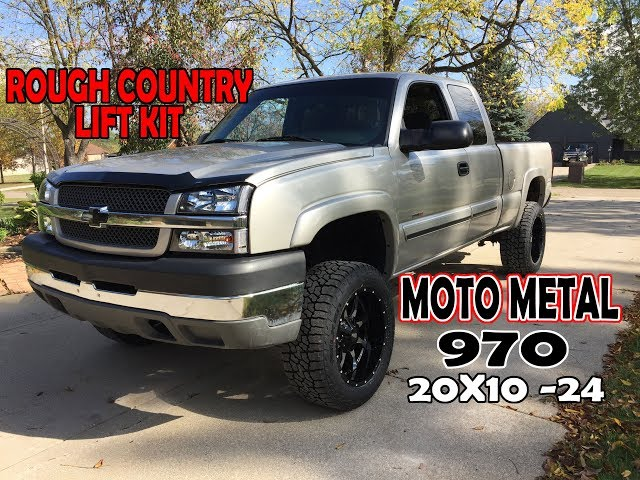 Rough Country 3 Lift Kit with 20x10 -24 Moto Metal 970 wheels for the Duramax Diesel || EP. 32
