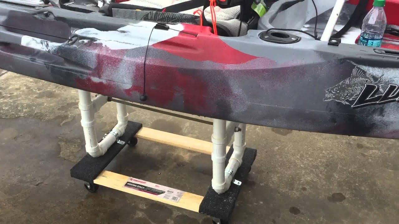 Diy Kayak Cart Youtube