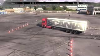 Permiso de Conducir Prueba Scania Truck Driving Simulator