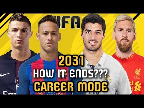 THE END OF CAREER MODE 2031 - FIFA 17 (All Best Teams, Players And REGENS!!!)