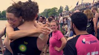 Summer Eights. Magdalen College. (Event Video)