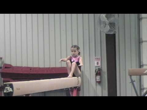 level 2 gymnastics - 4 years old