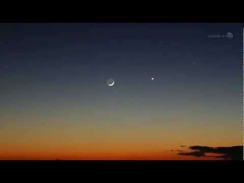 Excellent Planetary Alignment this Month | NASA Science Space Astronomy Venus HD Video