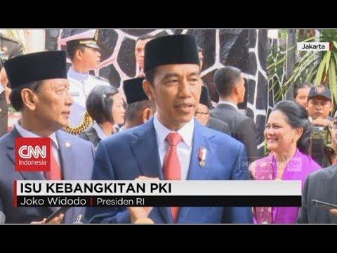 Presiden Joko Widodo Tanggapi Soal Isu Kebangkitan PKI