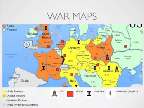 World War II Simulation Lesson Plan Student Orientation