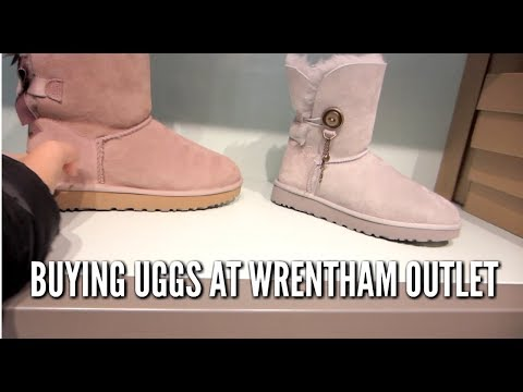 ZYCIE W USA- Buying UGGS At WRENTHAM PREMIUM OUTLETS, COLUMBIA OUTLET-vlog