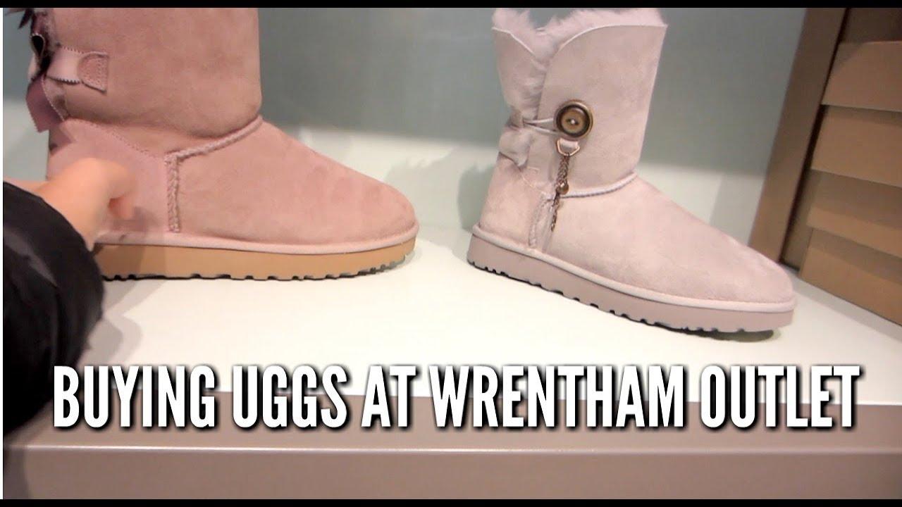 ugg outlet wrentham