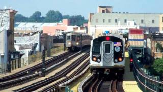 R160A M Train at 62nd Street