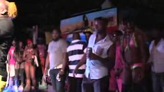shades night club elephant man proformance pon di beach 2013