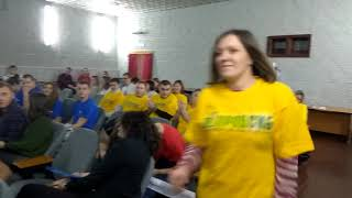 Открытие Слета работающей молодежи в Бердске