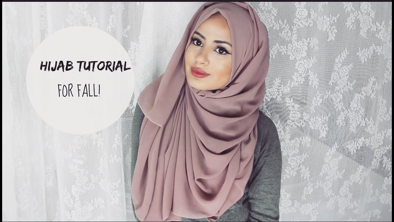 Easy Hijab Styles For Fall Hijab Tutorial Hijabhills