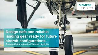 Design safe and reliable landing gear for future aircraft configurations