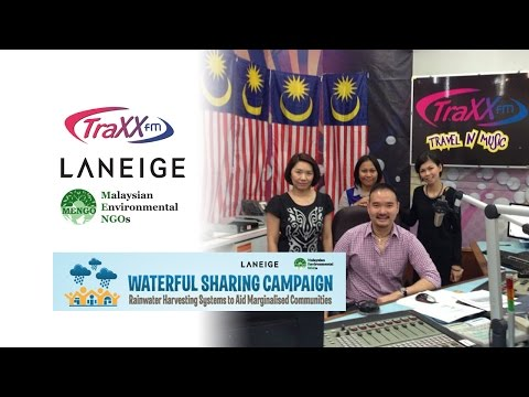 Waterful Sharing Campaign - TraxxFM Interview