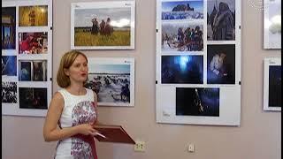Смотреть видео В Гомеле работает выставка «Многоликая Россия» онлайн