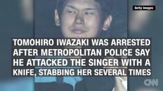 pop star Mayu Tomita stabbed by fan (CNN)