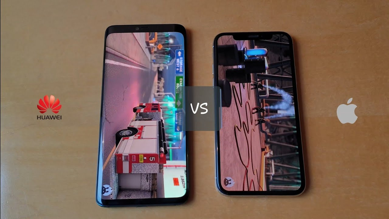 huawei mate 20 pro vs iphone x