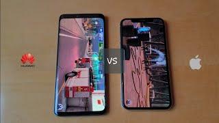 Huawei Mate 20 Pro vs iPhone X - AnTuTu Benchmark!