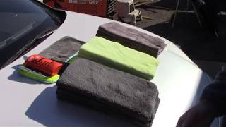 A Better Edgeless Microfiber Towel & Why - Introducing New Color!