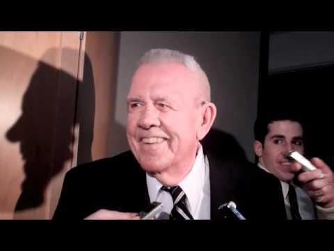 Broadcasting Legned Bob Wilson Speaks to the Media