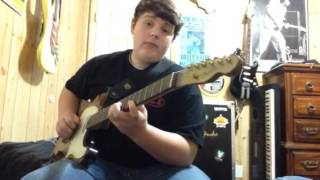 Austin Crum covering Brent Mason's famous tune, Hot Wired!