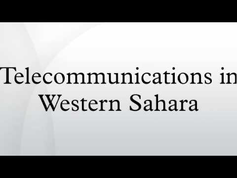 Telecommunications in Western Sahara