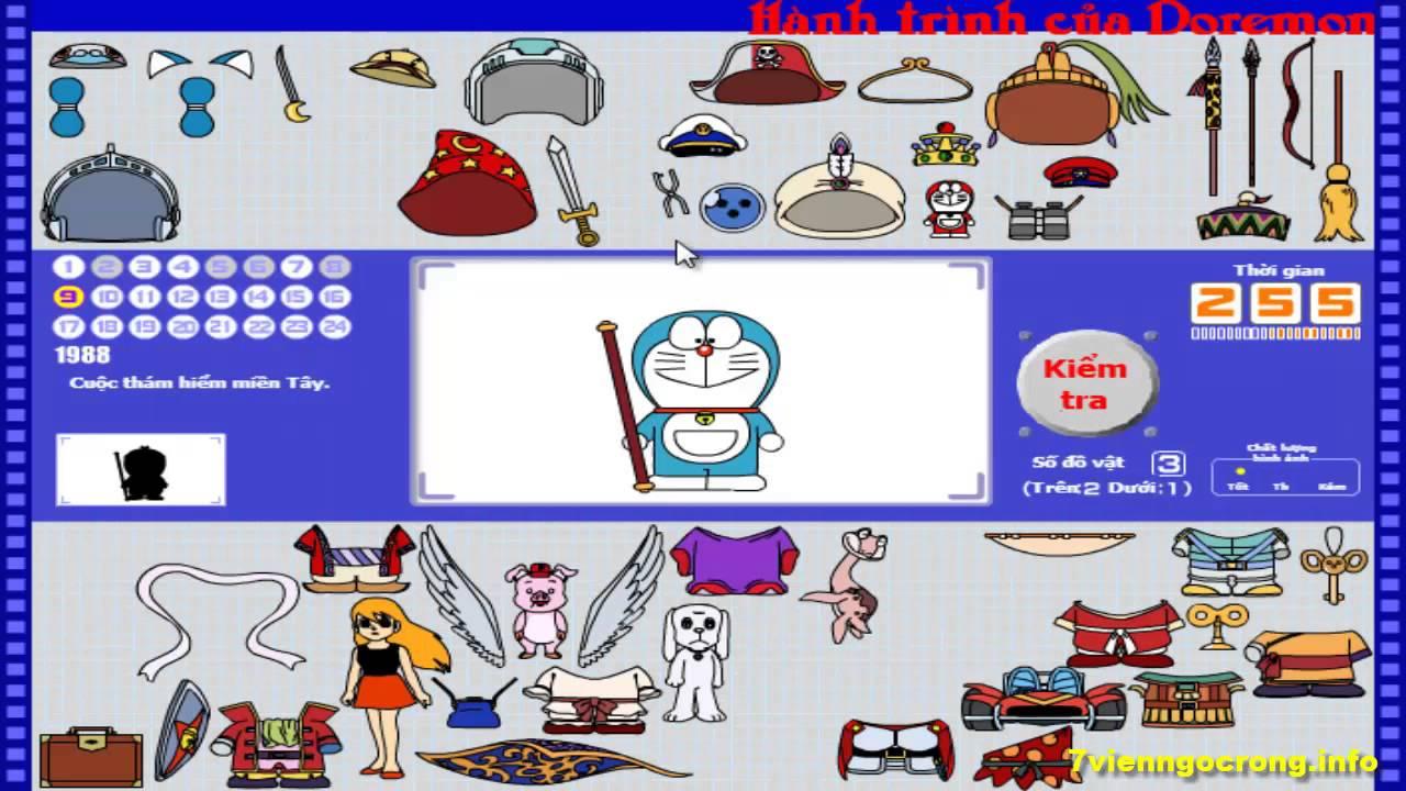 Game Doremon Phiêu Lưu (Hành trình của Doremon)