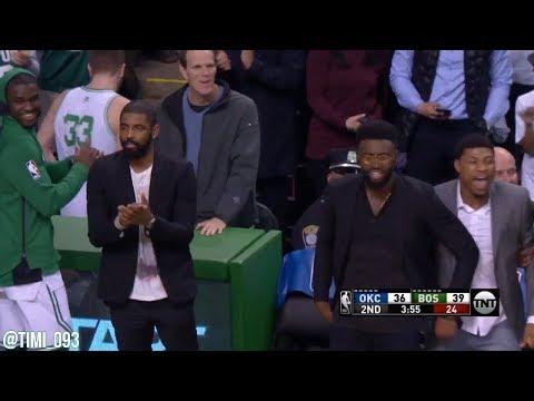 Boston Celtics Defensive Highlights vs Oklahoma City Thunder (03/20/2018)