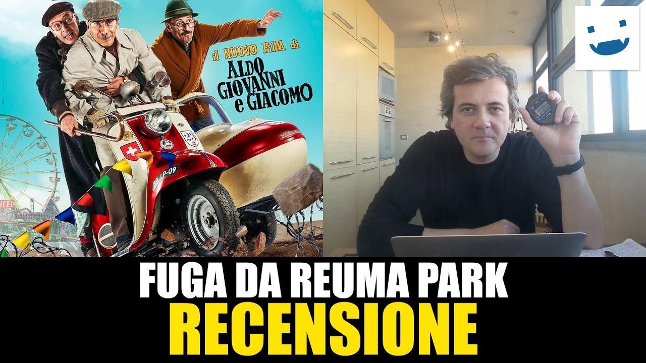 Fuga Da Reuma Park Di Aldo Giovanni E Giacomo Recensione Youtube