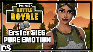 Fortnite Battle Royale Deutsch - Pure Emotionen - Let's Play Fortnite Gameplay German