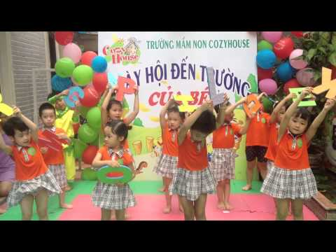 ABC song - lớp Dumbo trường mầm non Cozy House