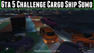 FailRace Gta 5 Challenge Cargo Ship Sumo