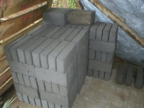 Bule Batako My brick business what I did while I lived in Manado Indonesia
