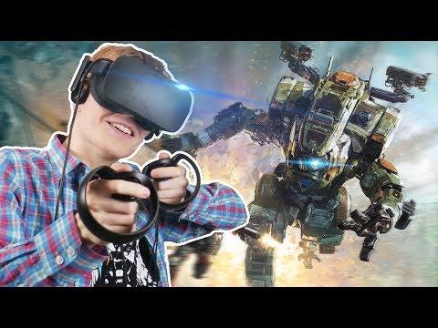 TITANFALL MECH SIMULATOR! | Archangel VR (Oculus Touch Gameplay)