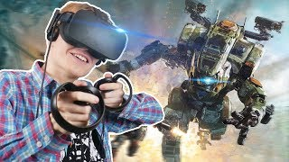 TITANFALL MECH SIMULATOR! | Archangel VR (Oculus Touch Gameplay)