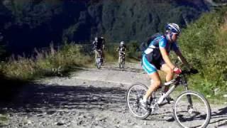 Tour du mont blanc à VTT été 2009 2éme épisode