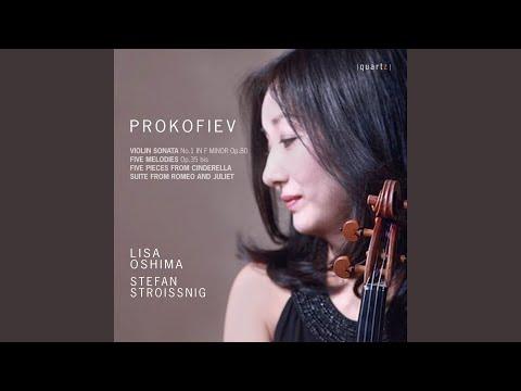Violin Sonata No. 1 in F Minor, Op. 80: IV. Allegrissimo