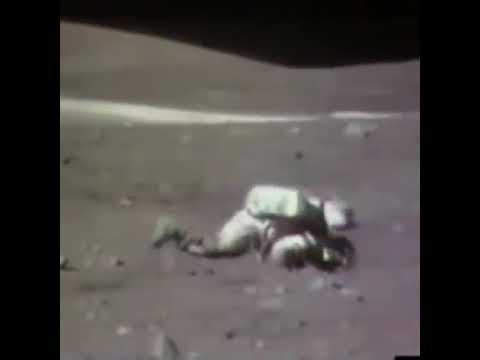 How to get up after falling down on the moon