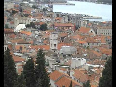 Altstadt von Šibenik in Kroatien (Croatia - Chorvatsko)